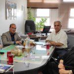 جلسه مشترک با عضو هیئت مدیره اتاق بازرگانی ایران و روسیه